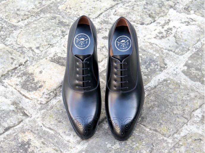 4509 - Forme fine - Box-calf noir - Annonay