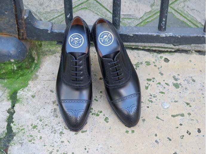4507 - Forme fine - Box-calf noir - Annonay
