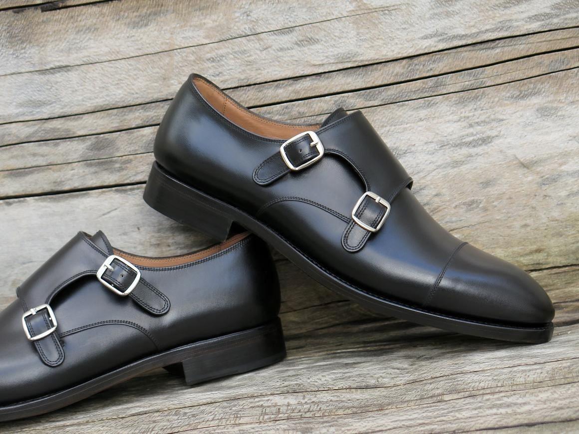 4504 - Forme fine - Box-calf noir - Annonay