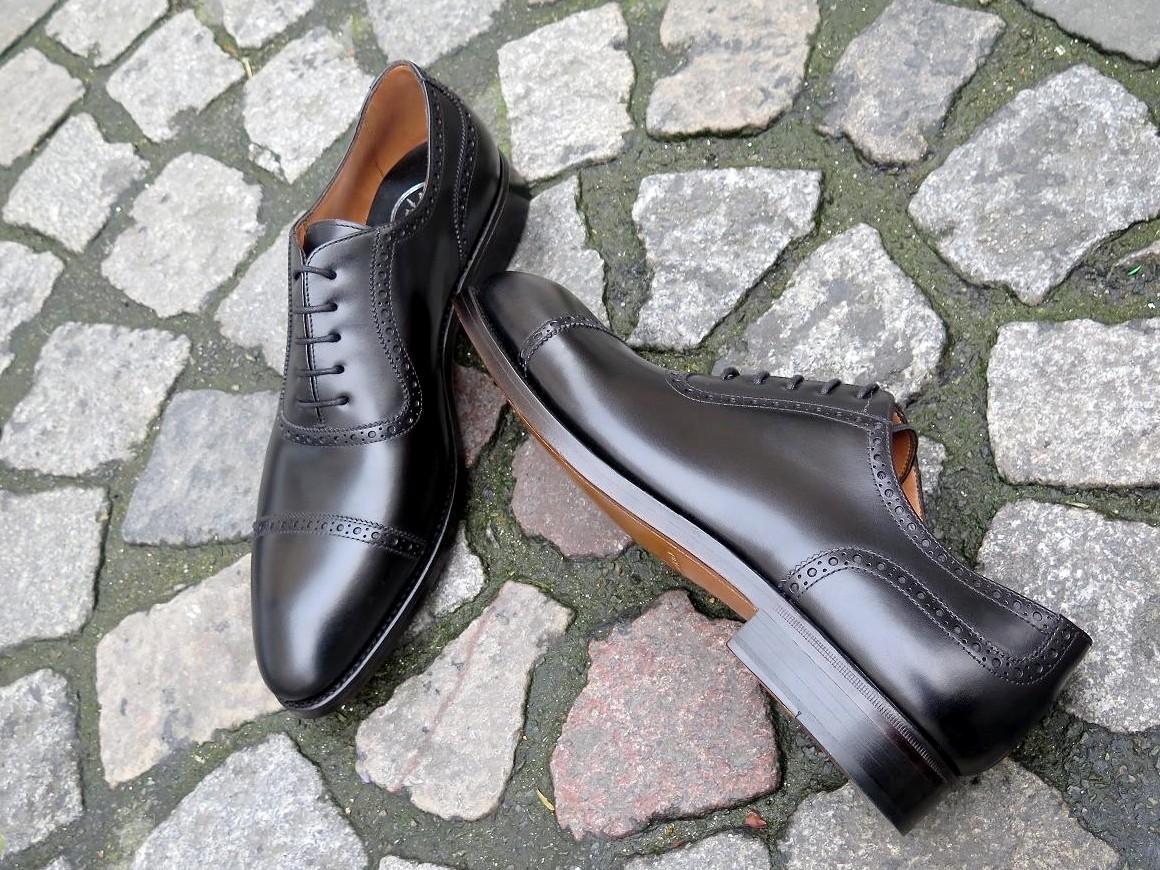 4506 - Forme fine - Box-calf noir - Annonay