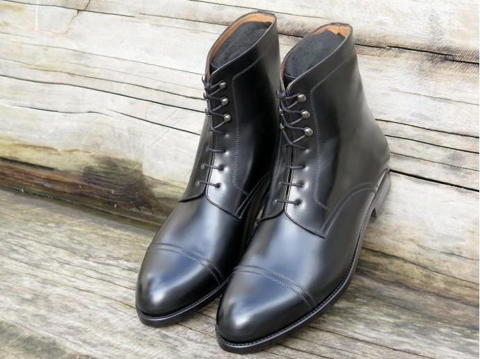4510 - Largeur F - Box-calf noir - Annonay