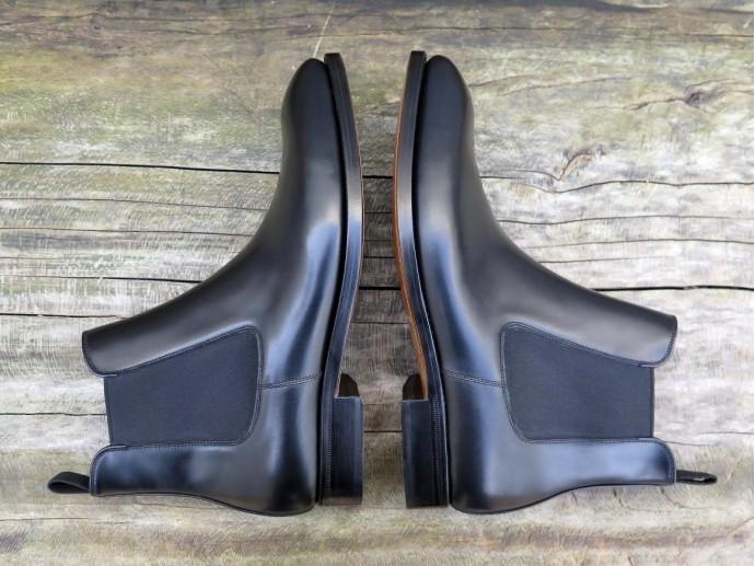 4514 - Forme fine - Boxcalf noir - Annonay