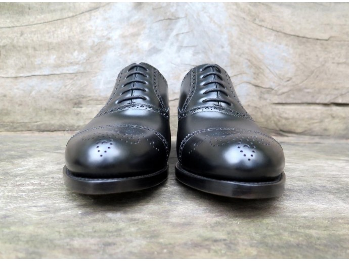 4512 - Forme ronde - Box-calf noir - Annonay