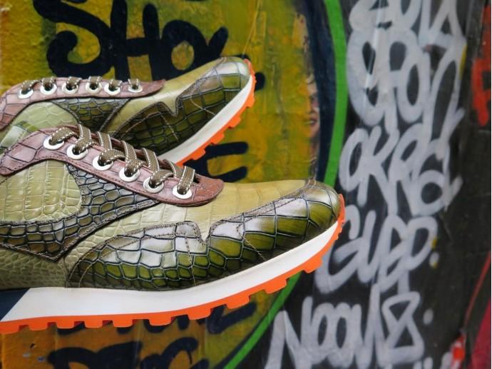 Prince Jorge - Sneakers - Gecko - Brown