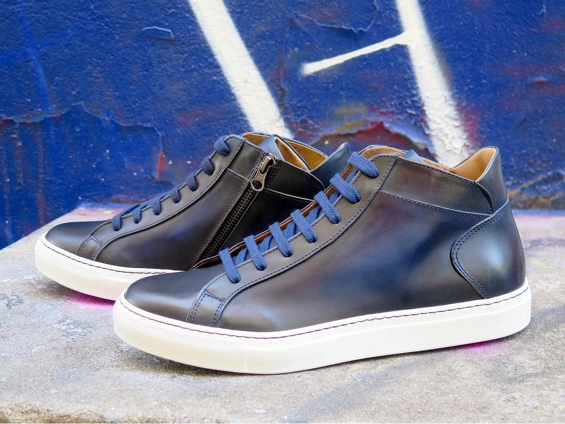 PJ Sneakers - Basket - Urbano - Azur