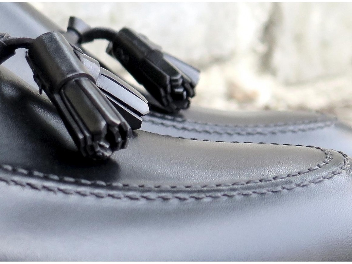 Prince Jorge - 4503 - Box-calf noir - Annonay