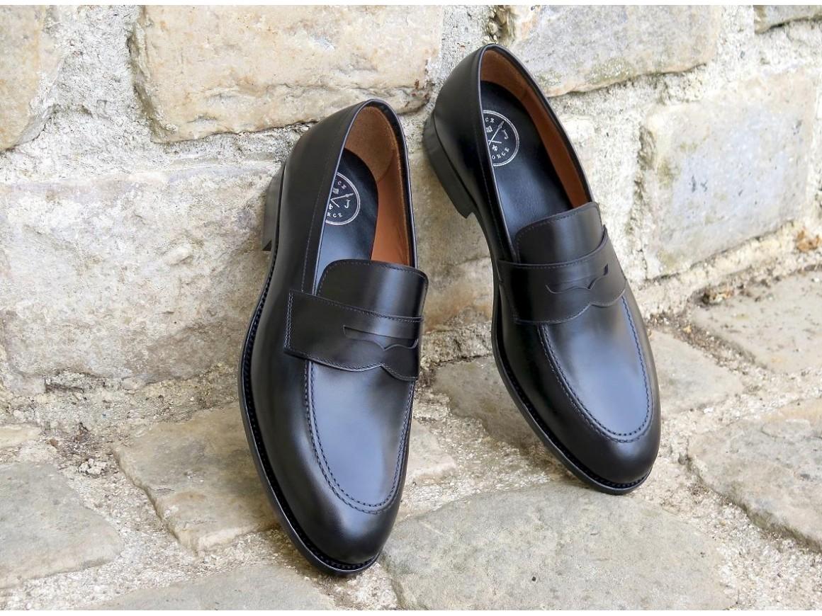 Prince Jorge - 4502 - Box-calf noir - Annonay