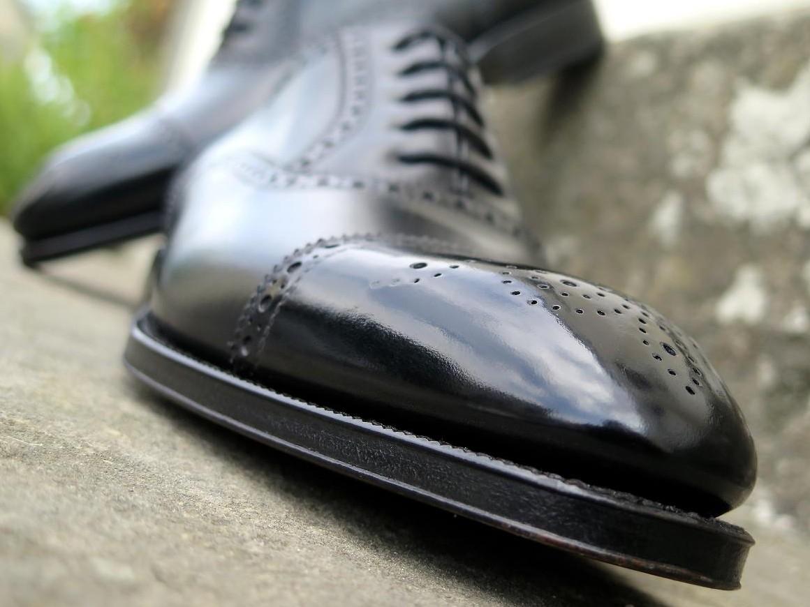 PJ Ligne Prestige - Bolivar - Box-calf - Noir