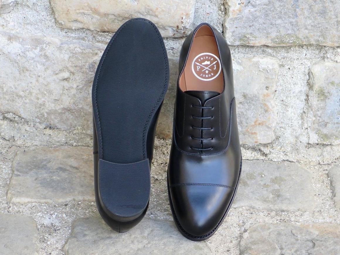 4500 Gomme - Largeur F - Box-calf noir - Annonay