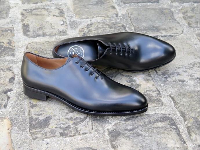 4505 - Largeur E - Box-calf noir - Annonay